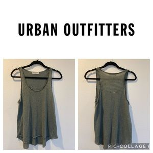 ❤️URBAN OUTFITTERS PROJECT SOCIAL TEE❤️ striped knit tank top